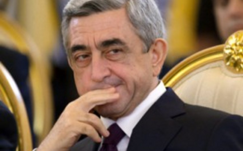 Ermənistan prezidenti Brüsselə gedir
