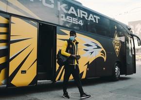 Кайрат отправился в Баку на игру с Карабахом