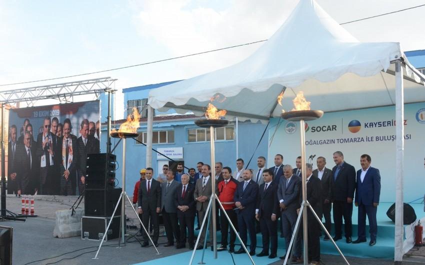 SOCAR Turkey газифицировала поселок в Кайсери