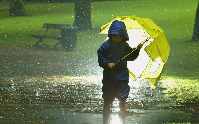 Həftənin ilk günü intensiv yağış yağacaq