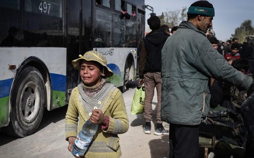 Пожар в лагере для беженцев в Сирии, есть пострадавшие