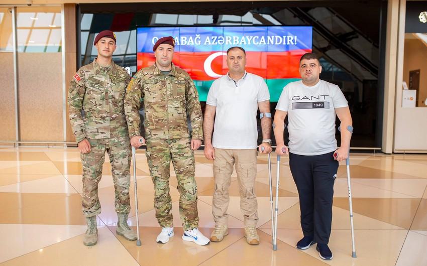 Ağır yaralanan daha 8 qazimiz Türkiyəyə göndərilib