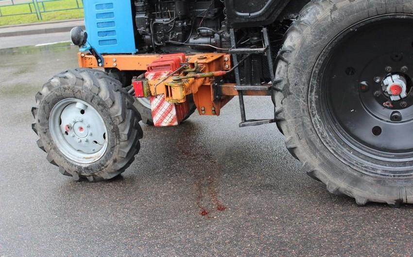 Salyanda 24 yaşlı gənci traktor vuraraq öldürüb - YENİLƏNİB