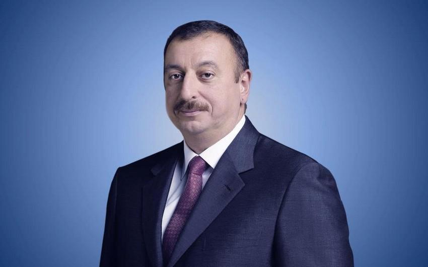 Azərbaycan Prezidenti FİFA-nın yeni rəhbərini təbrik edib