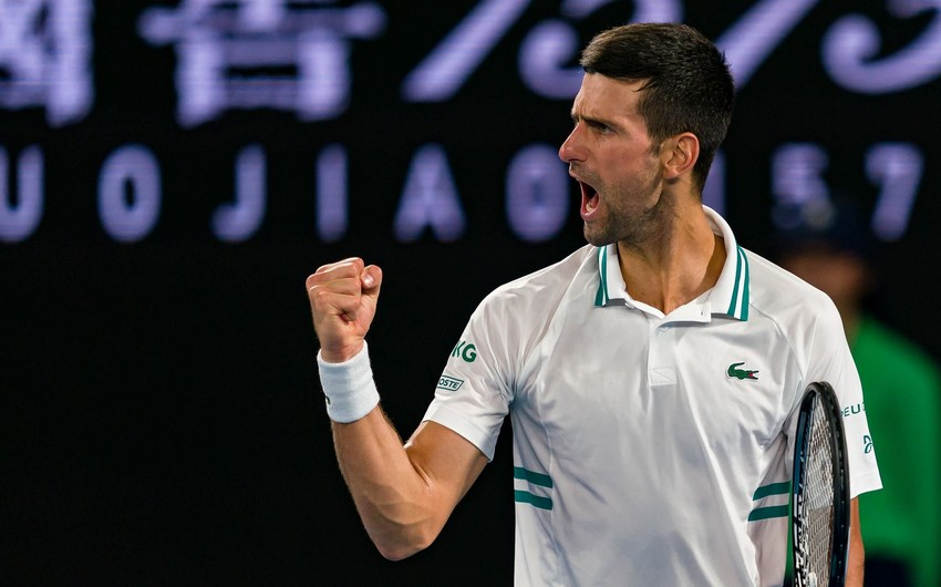 """""""Australian Open"""": Serbiyalı tennisçi 9-cu dəfə qalib oldu"""