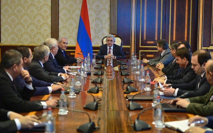 Ermənistan Milli Təhlükəsizlik Şurasının müşavirəsi keçirilib