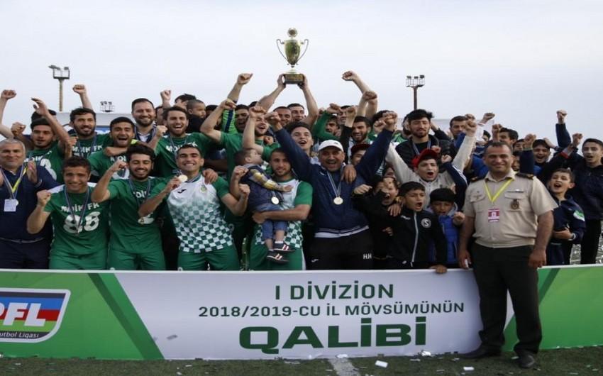 Futbol üzrə I Divizionda yeni mövsümün başlayacağı tarix açıqlanıb