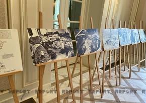 Parisdə Xocalı soyqırımı qurbanlarının xatirəsi anılıb