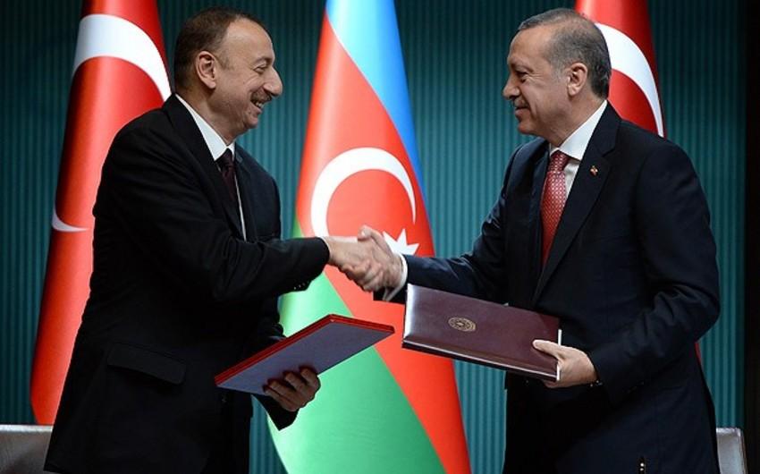 Ankarada Türkiyə-Azərbaycan sənədləri imzalanıb