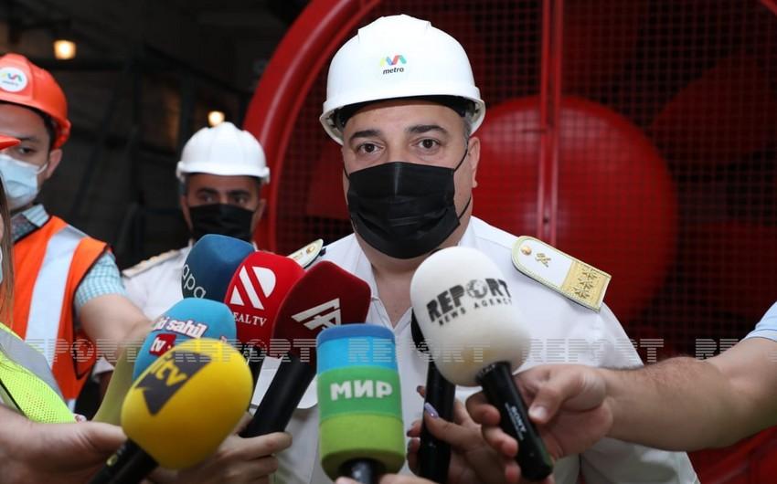 """Bakı Metropoliteni"": ""Rusiyadan daha 23 ventilyator alınıb"""