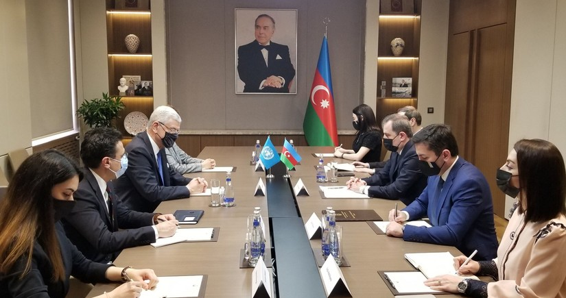 Baku hosts meeting between Jeyhun Bayramov and Volkan Bozkır