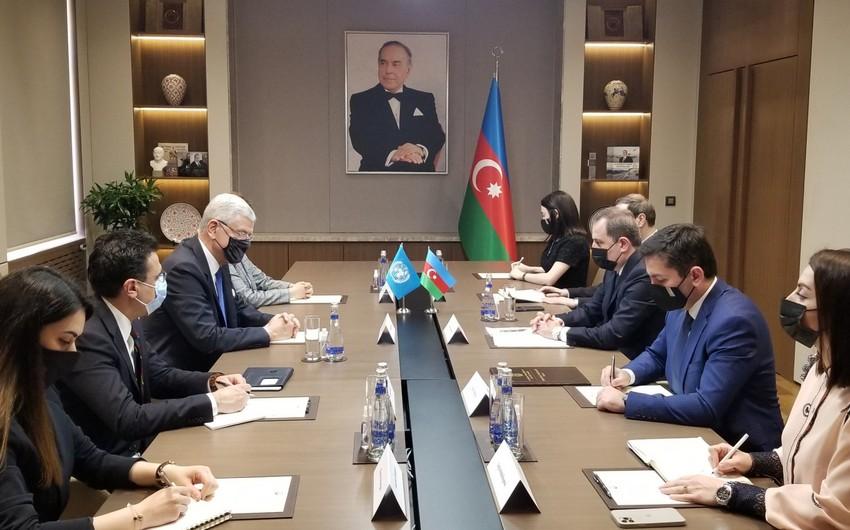 Baku hosts meeting between Jeyhun Bayramov and Volkan Bozkır