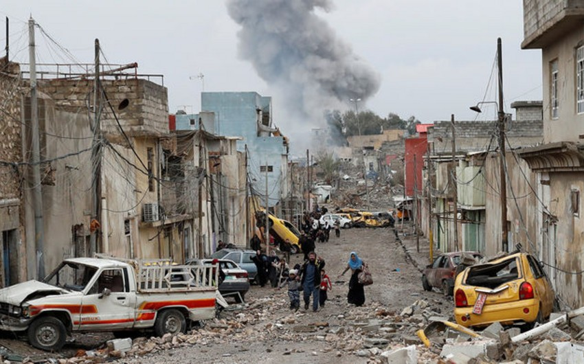İraqın Tuzhurmatu şəhərində partlayış törədilib, 20 nəfər ölüb