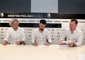 Эмрели подписал контракт с «Легией»