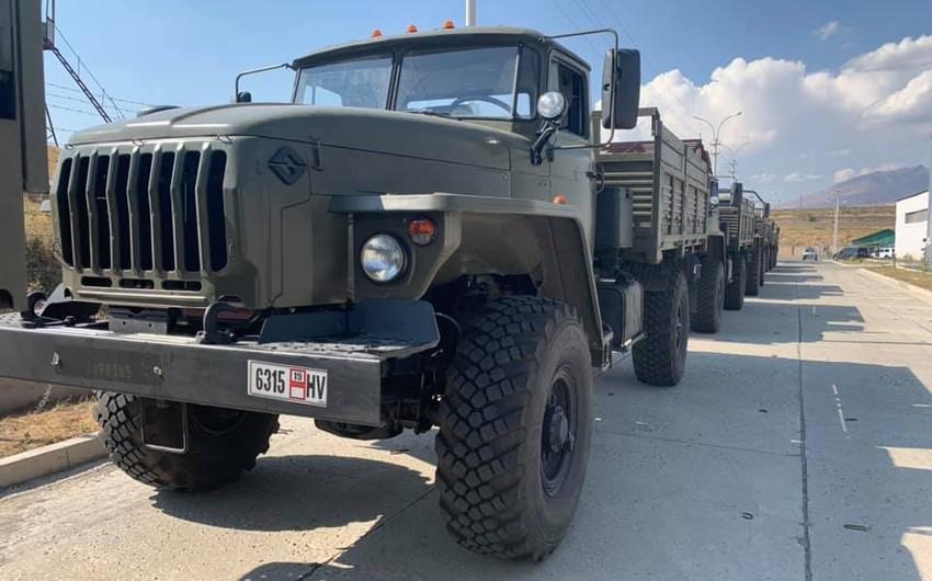 Ermənistan Rusiyadan yeni hərbi texnika alıb