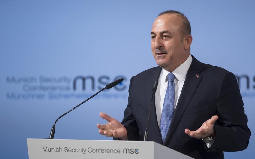 Türkiyə XİN başçısı Rusiyanı Qarabağdakı sülhməramlıların statusunu müəyyənləşdirməyə çağırıb