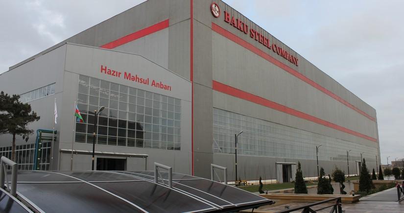 """""""Baku Steel Company"""" istehsal və maliyyə göstəricilərini açıqladı"""