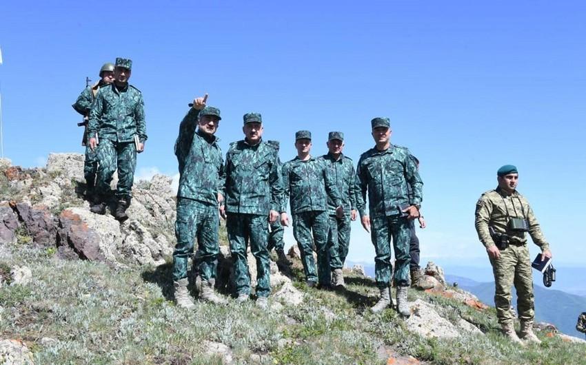 Azərbaycan-İran sərhədində xidmət edən sərhədçilərə yeni tapşırıqlar verilib