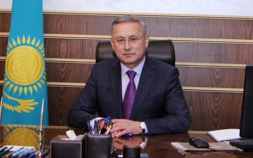 Səfir: Azərbaycan və Qazaxıstan ticari-iqtisadi əməkdaşlığın genişləndirilməsi üzərində çalışır