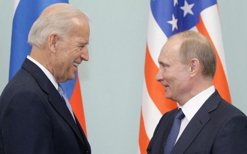 Vladimir Putinlə Cozef Bayden arasında telefon danışığı olub