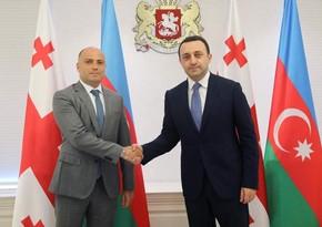 Министр культуры Азербайджана встретился с премьер-министром Грузии