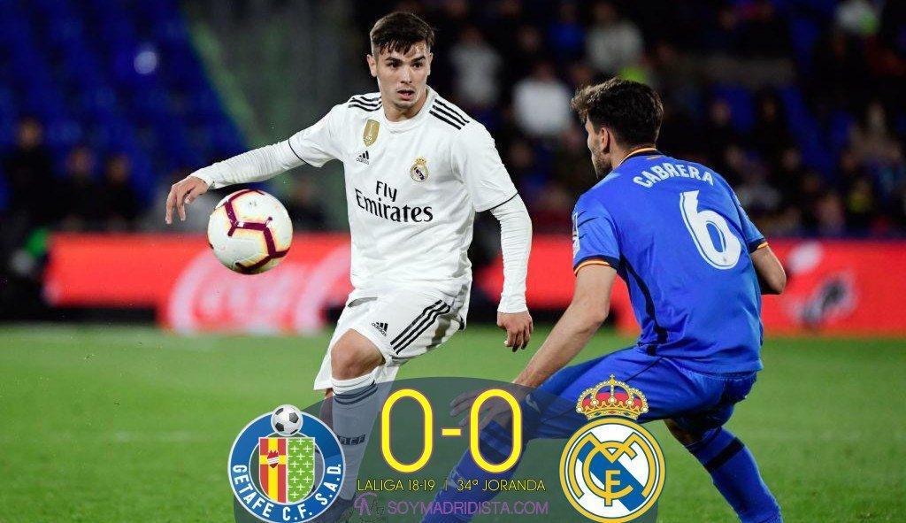 Реал сыграл вничью с Хетафе в матче чемпионата Испании по футболу