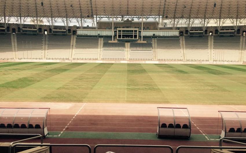 Tofiq Bəhramov adına Respublika Stadionunun ot örtüyü dəyişdirilməyəcək