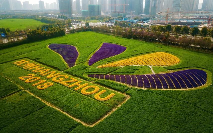 Çində Asiya Oyunları üçün yeraltı kompleks qurulur