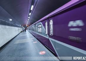 Бакметрополитен запускает на линию еще два новых поезда