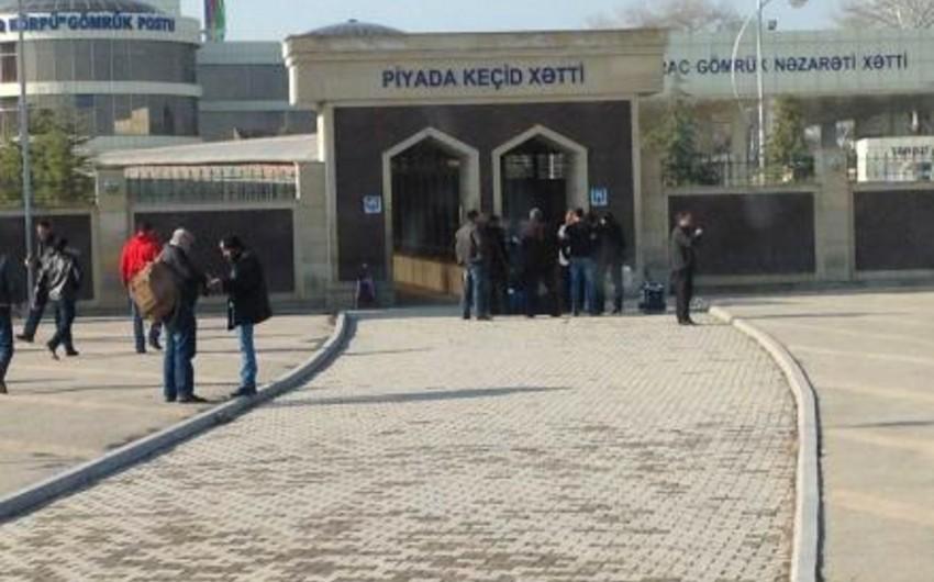 На границе Азербайджана и Грузии возникли ограничения