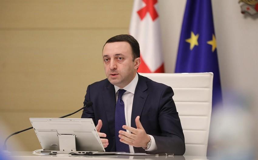 """Gürcüstanın Baş naziri: """"Azərbaycanlıların müdrik liderivar"""""""