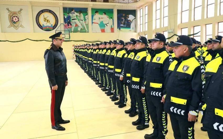 Vilayət Eyvazov YPX-nin yeni formalarının tətbiqi ilə əlaqədar sıra baxışı keçirib