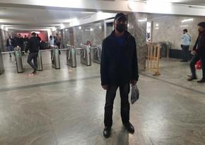 Metronun  Koroğlu stansiyasında koronavirus xəstəsi saxlanılıb