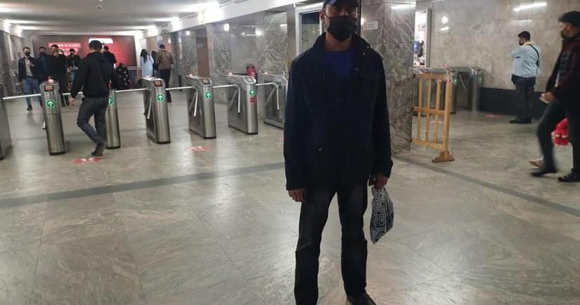 На станции метро Короглу задержан больной коронавирусом