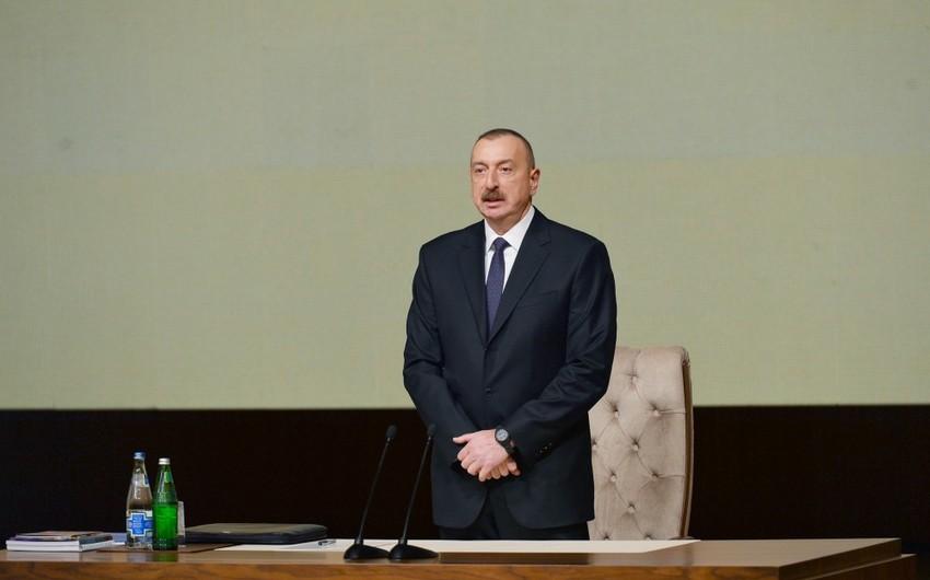 Prezident İlham Əliyev: Gürcüstan vasitəsilə Türkiyəyə elektrik enerjisinin ixracı üçün yaxşı imkanlar mövcuddur