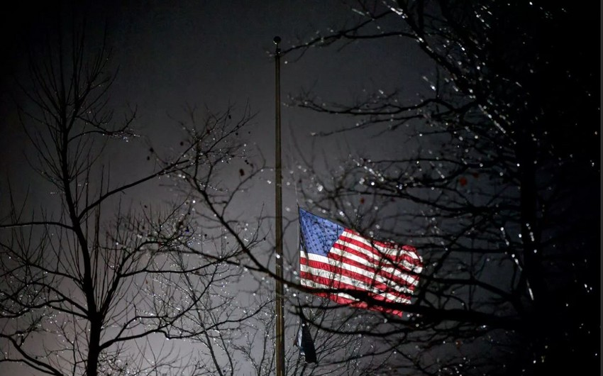 Biden orders to lower flags over police officer's murder