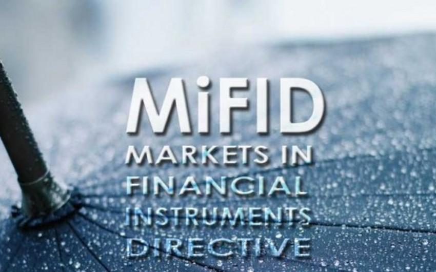 MiFID-2 normativləri Avropa kapital bazarını ciddi dəyişəcək
