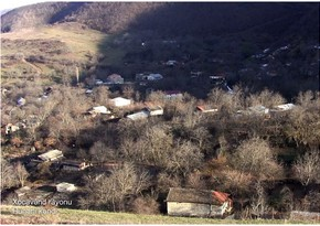 Video footage of Hunarli village of Khojavend region