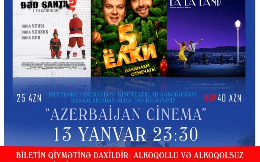 """""""CinemaPlus Azerbaijan"""" kinoteatrında """"Kino gecəsi"""" keçiriləcək"""