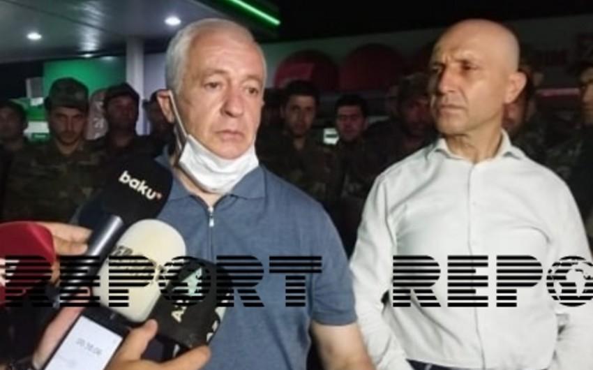 Etibar Mirzəyev: Türkiyədəki yanğınların söndürülməsində istədiyimizə nail oluruq
