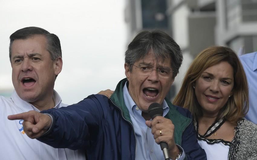 Ekvadorda prezident seçkilərində sabiq bankir qalib gəldi