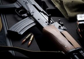 Abşeron sakinindən silah-sursat götürülüb