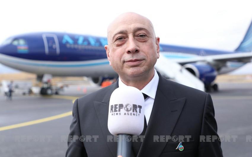 AZAL-ın vitse-prezidenti: Şərqi Zəngəzur bölgəsində iki hava limanının inşasına başlanılıb