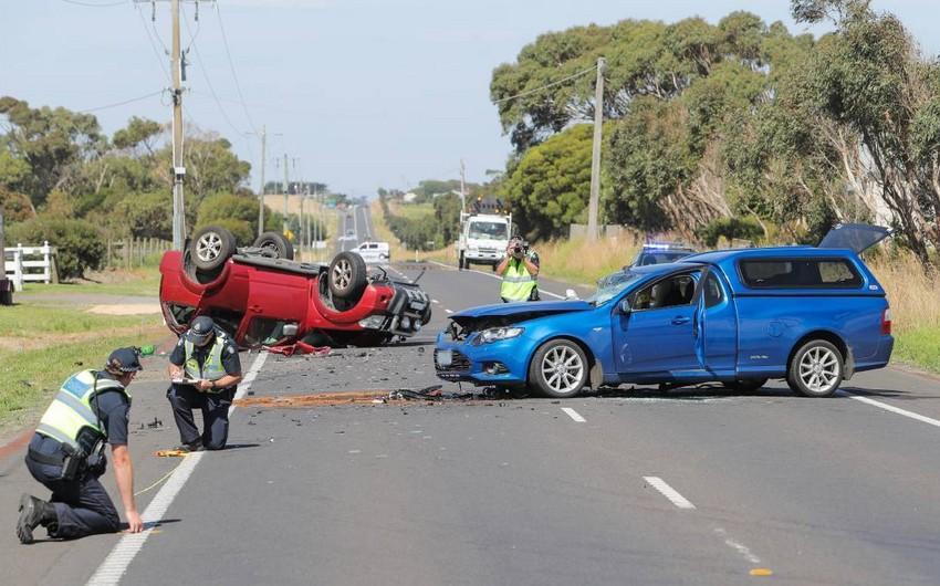 DİN: Həftəsonu yol qəzalarında 7 nəfər ölüb