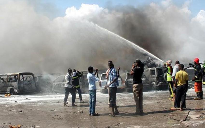 Somalidə institutda yanğın olub, 49 nəfər yaralanıb