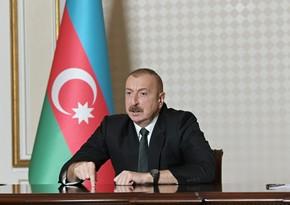 Ильхам Алиев: В своих выступлениях я указал, где ныне находится статус
