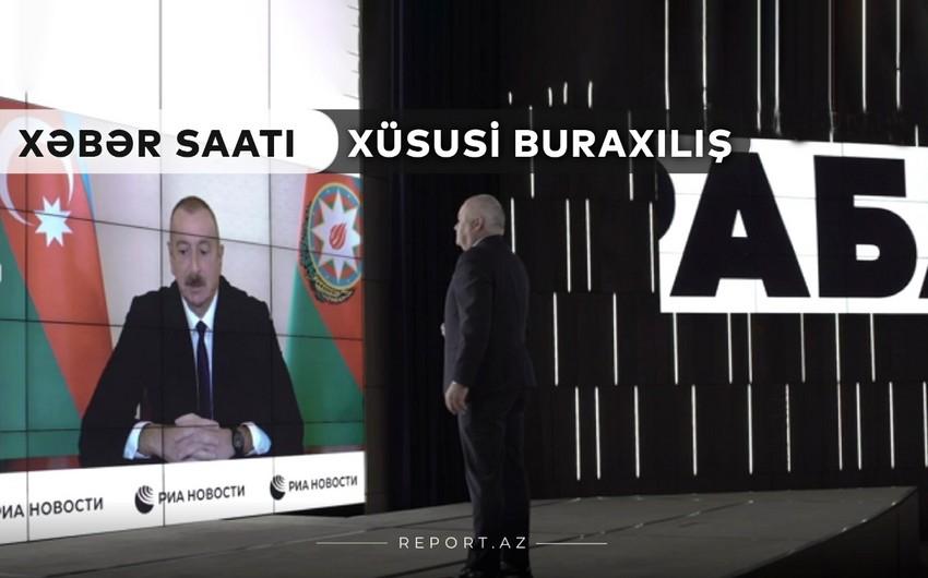 """""""Xəbər Saatı"""": Ərazi bütövlüyü heç bir şərtlə pozula bilməz"""