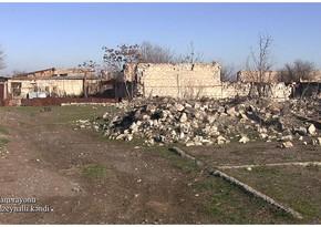 Снимки еще одной разрушенной деревни Агдама
