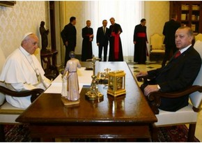 Erdogan, Pope Francis hold phone talks