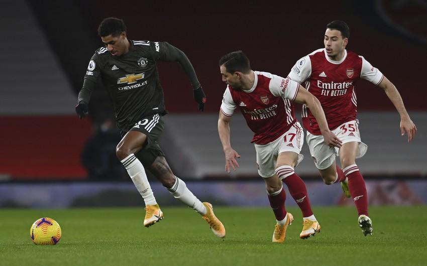 """""""Arsenal"""" – Mançester Yunayted"""" oyununda qalib müəyyənləşmədi"""